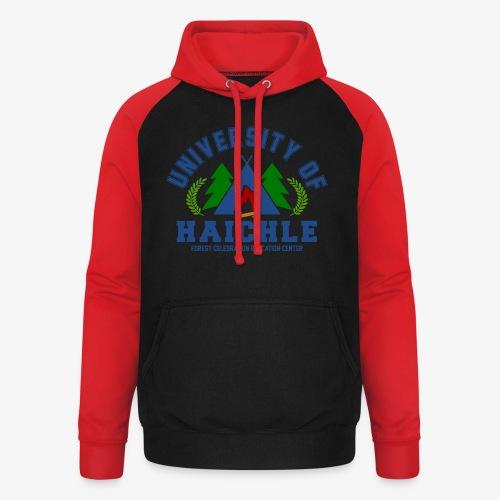 University Of Haichle (Kinder) - Unisex Baseball Hoodie