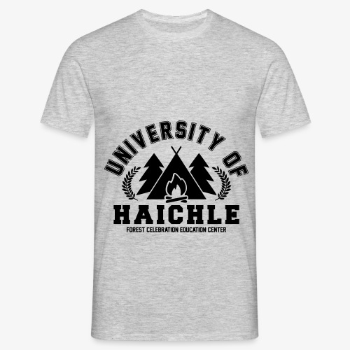 University Of Haichle (Hoodie) - Männer T-Shirt