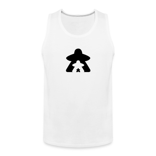 Meeple March - Men's Premium Tank Top
