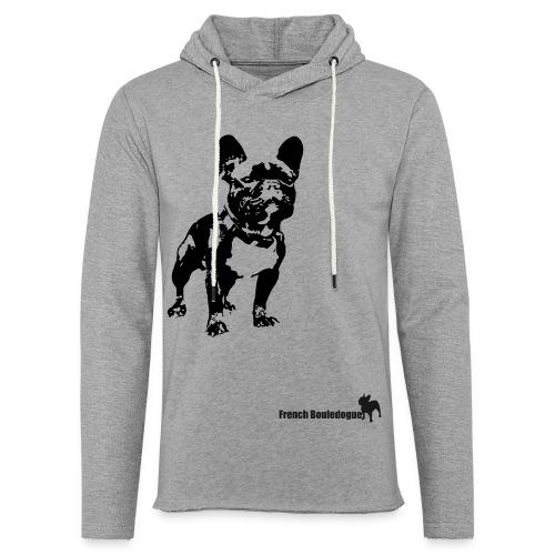 french bulldogue - Leichtes Kapuzensweatshirt Unisex