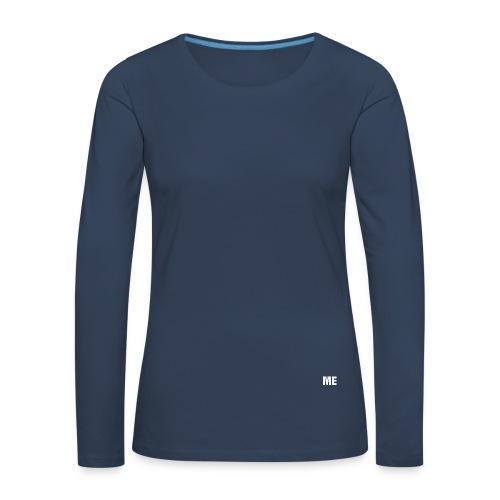 casquette me - T-shirt manches longues Premium Femme