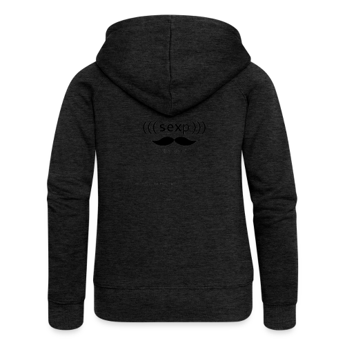 s-expression (Black) - Women's Premium Hooded Jacket