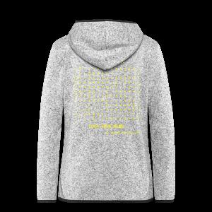 Brainfuck (Yellow) - Women's Hooded Fleece Jacket