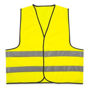 Brainfuck (Yellow) - Reflective Vest