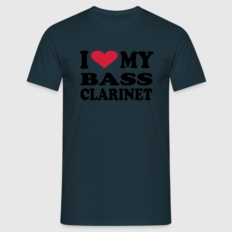 I Love My Bass Clarinet - Men's T-Shirt