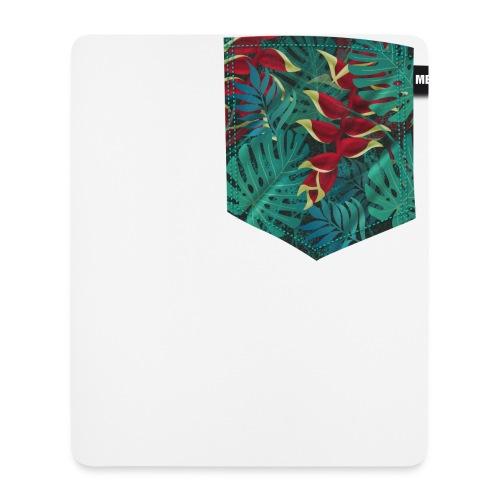 effet pocket parrot - Tapis de souris (format portrait)