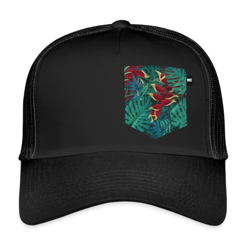 effet pocket parrot - Trucker Cap