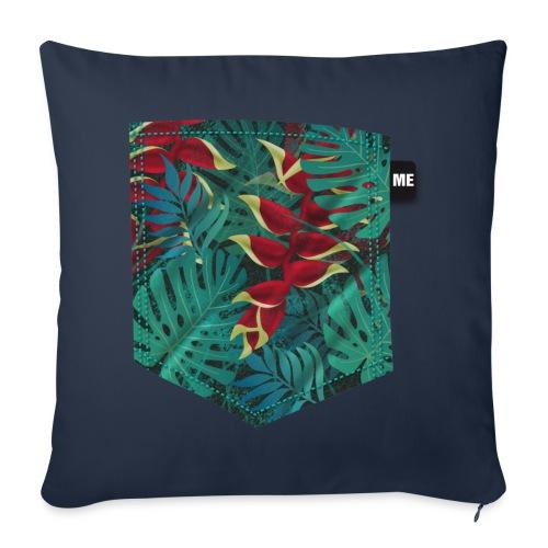 effet pocket parrot - Housse de coussin décorative 44x 44cm