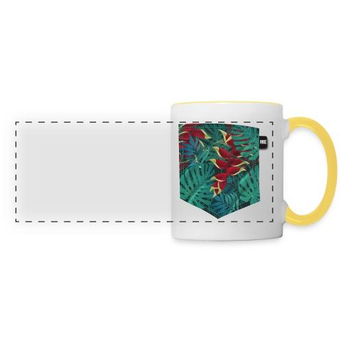 effet pocket parrot - Mug panoramique contrasté et blanc