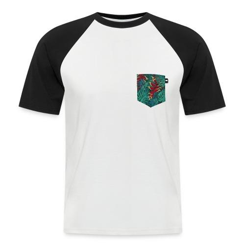 effet pocket parrot - T-shirt baseball manches courtes Homme