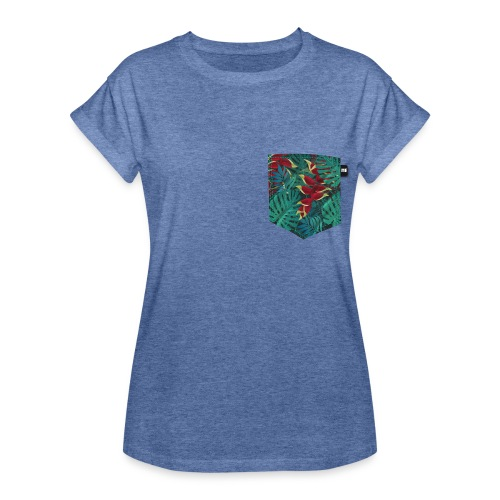 effet pocket parrot - T-shirt oversize Femme