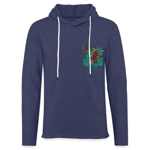effet pocket parrot - Sweat-shirt à capuche léger unisexe