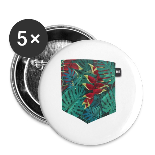 effet pocket parrot - Badge grand 56 mm