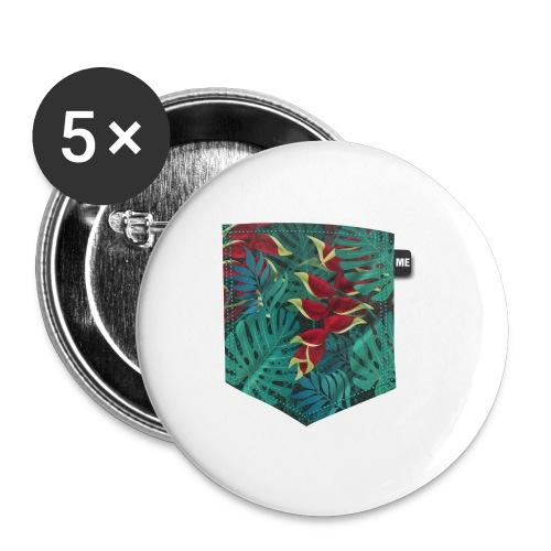 effet pocket parrot - Badge moyen 32 mm