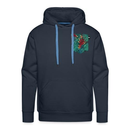 effet pocket parrot - Sweat-shirt à capuche Premium pour hommes