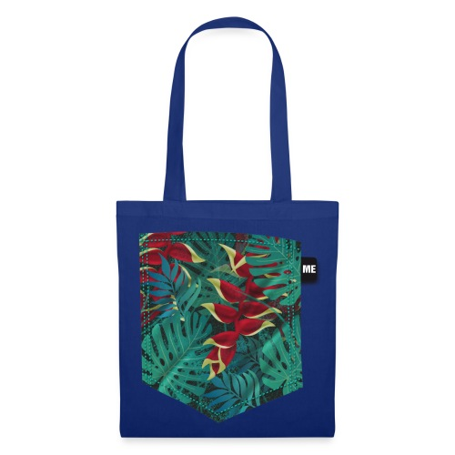 effet pocket parrot - Tote Bag