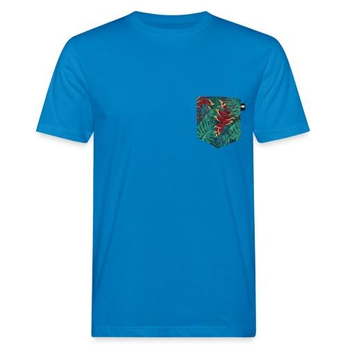 effet pocket parrot - T-shirt bio Homme