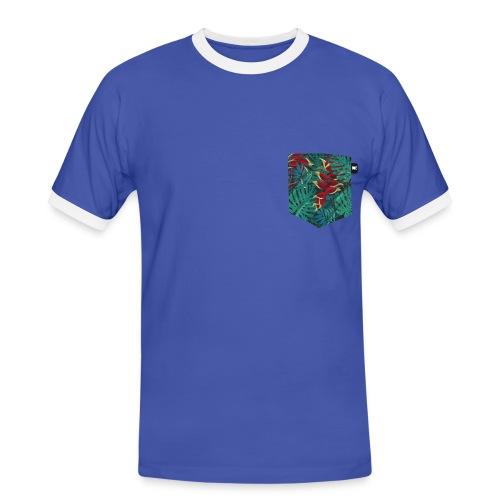 effet pocket parrot - T-shirt contrasté Homme