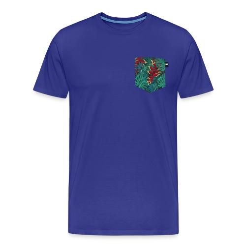 effet pocket parrot - T-shirt Premium Homme