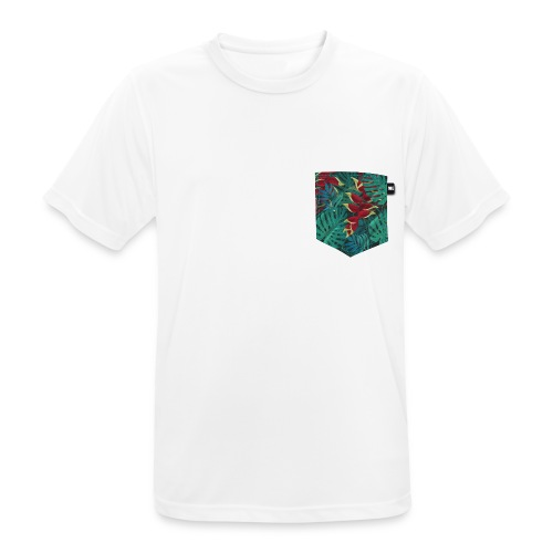 effet pocket parrot - T-shirt respirant Homme