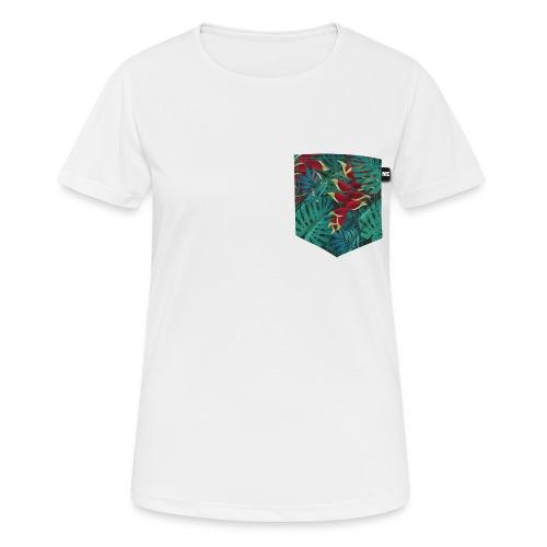 effet pocket parrot - T-shirt respirant Femme