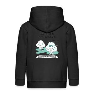 Madalenas y Marketing - Chaqueta con capucha premium niño