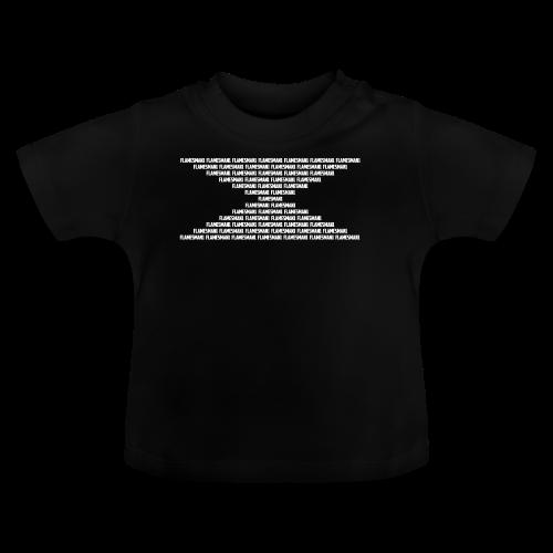Flamesman1 Mønster (unisex) - Baby T-shirt