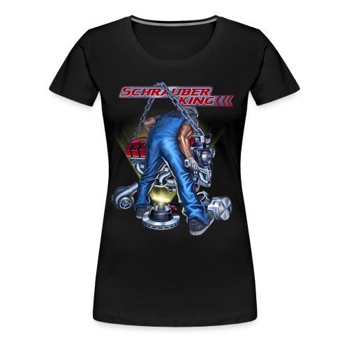 Rahmenlos JL Schrauberking - Design Geschenk - Frauen Premium T-Shirt