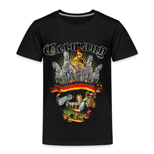 Rahmenlos JL Germany - Design Geschenk - Kinder Premium T-Shirt