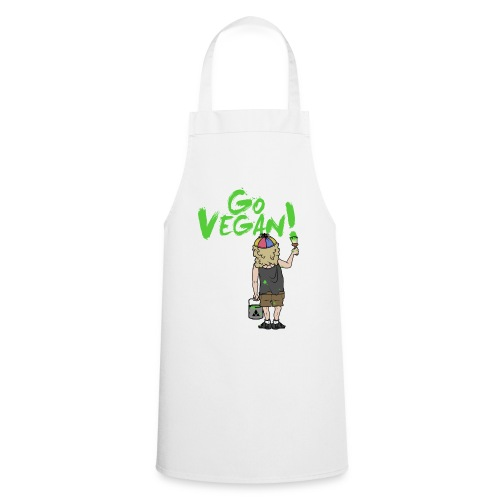 GO VEGAN - Kochschürze
