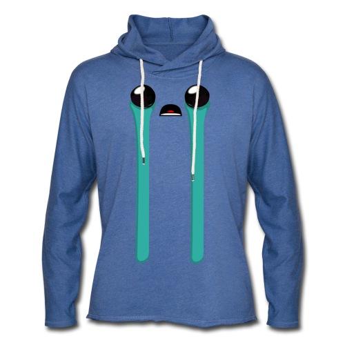 Blue Baby - Sweat-shirt à capuche léger unisexe