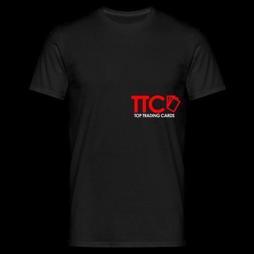 TTC Hoodie rot/schwarz - Männer T-Shirt