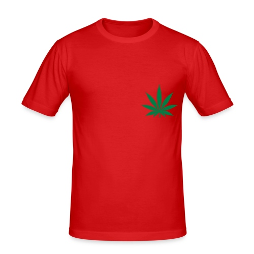 Mens AFK Hoodie - Men's Slim Fit T-Shirt