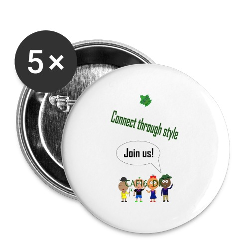 JOIN US - Marine - Buttons/Badges stor, 56 mm (5-pack)