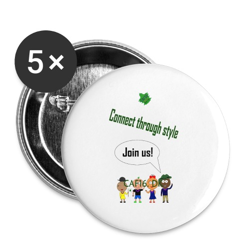 JOIN US - Marine - Buttons/Badges lille, 25 mm (5-pack)