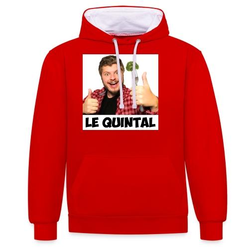 Le Quintal Youtube - Sweat-shirt contraste