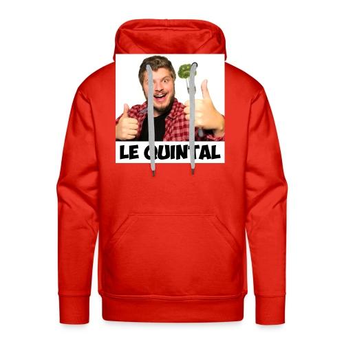 Le Quintal Youtube - Sweat-shirt à capuche Premium pour hommes
