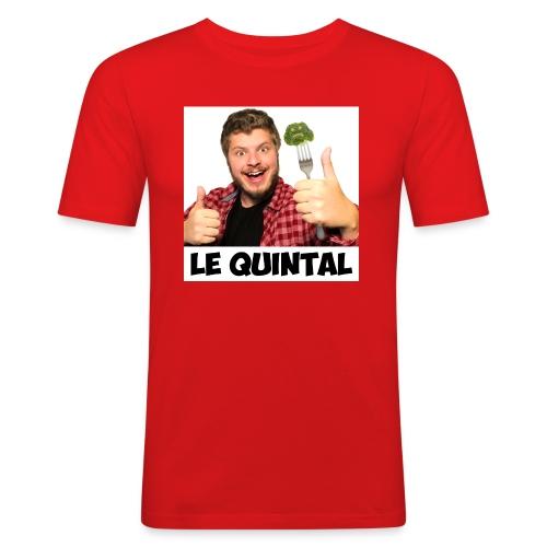 Le Quintal Youtube - T-shirt près du corps Homme