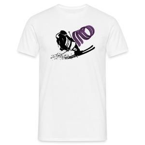 Afterbanger T - Hvit - T-skjorte for menn