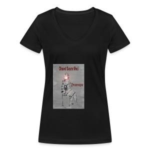 Økologisk T-skjorte med V-hals for kvinner fra Stanley & Stella