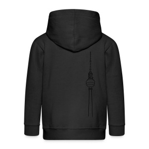 TV-Tower Berlin (gold) - Kids' Premium Zip Hoodie