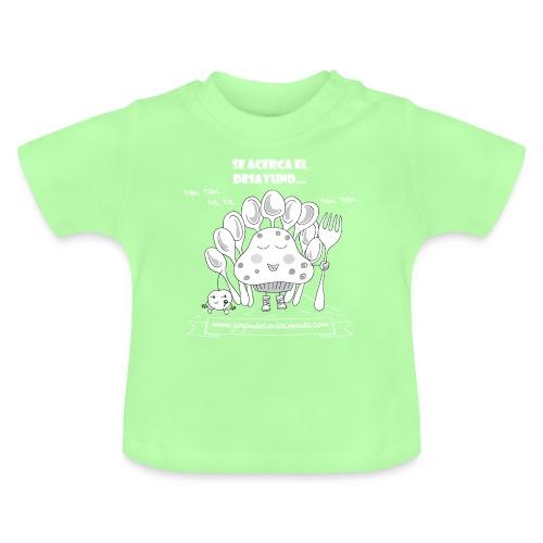 Se acerca el Desayuno... (white/kid) - Camiseta bebé