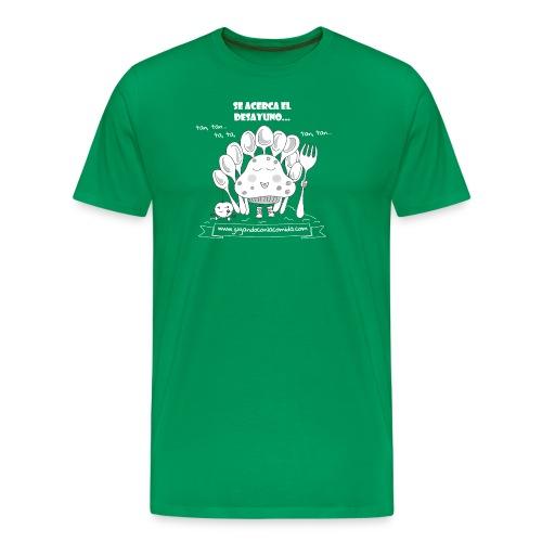 Se acerca el Desayuno... (white/kid) - Camiseta premium hombre