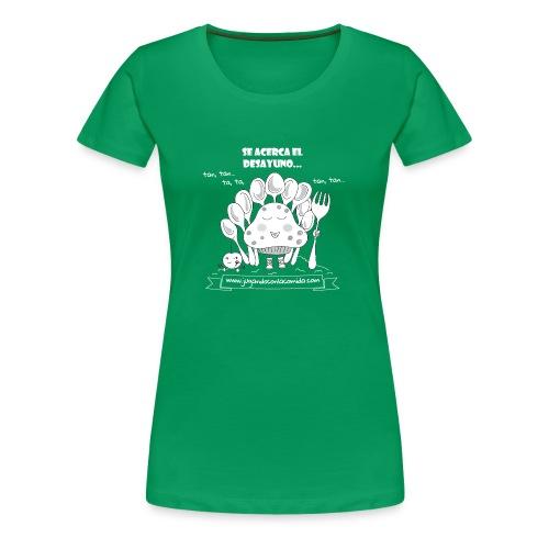 Se acerca el Desayuno... (white/kid) - Camiseta premium mujer