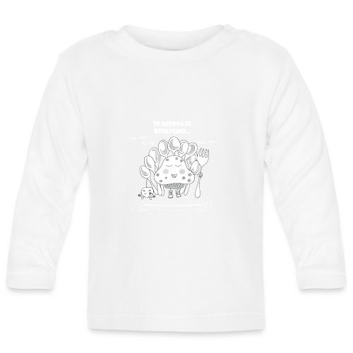Se acerca el Desayuno... (white/kid) - Camiseta manga larga bebé