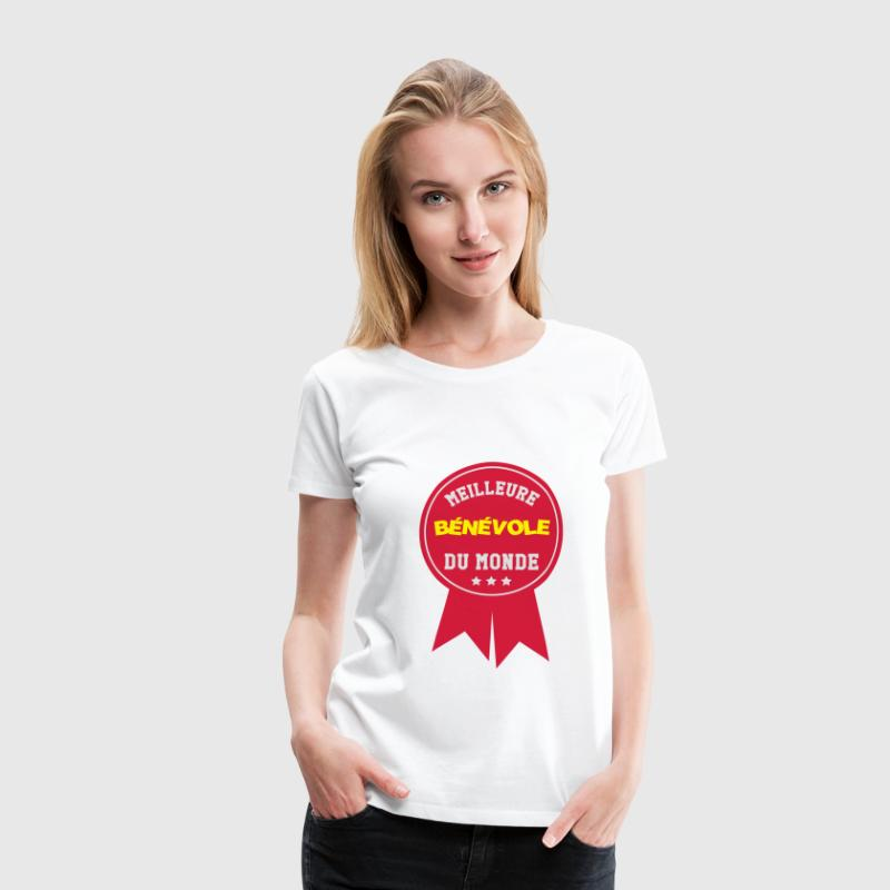 Bénévolat / Bénévole / Solidaire / Humanitaire Tee shirts - T-shirt Premium Femme