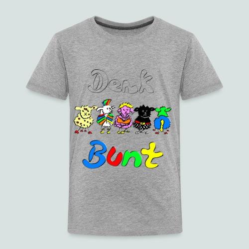 Denk bunt Schafe - Kinder Premium T-Shirt