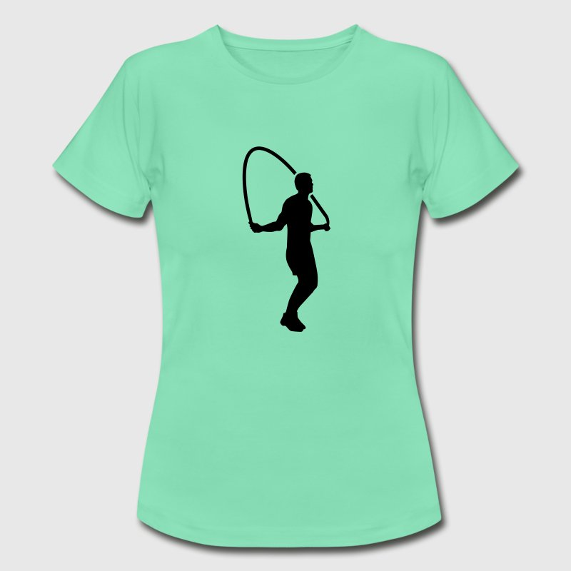 Seilspringen T-Shirts - Frauen T-Shirt