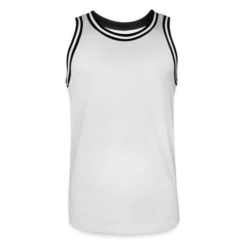 White - Mannen basketbal shirt