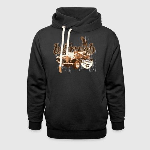 bsrweb racing - Hoodie med sjalskrave